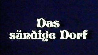 antique 70s german - Das suendige Dorf - cc79