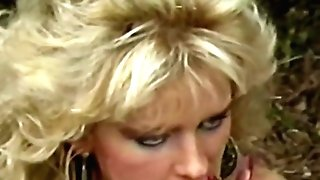Two Blondes Girl-on-girl Following By Threesome In The Garden Vhs Paramours