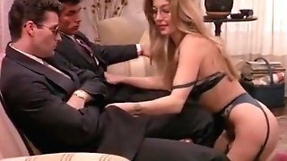 Moana Pozzi Dual Blowage In Eccitazione Fatale (1992)