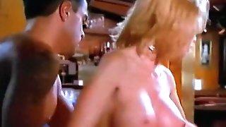 Hot Blonde Bar Bang