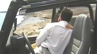 Amanda, Oral Pleasure And Anal Intercourse In The Jeep