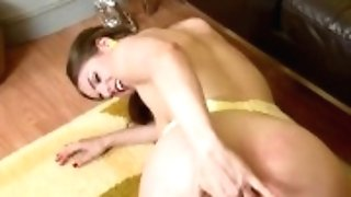 """""""natural Big Tits Dark-haired Stella Cox Finger Fucks In Sheer Nylons And Stilettos"""""""