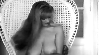 COCK BALL TORTURE big tits old school retro antique 50's blackandwhite nodol1