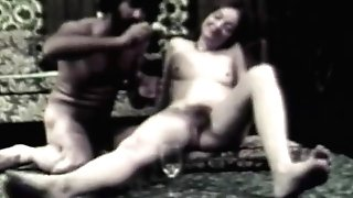 Deep throat and Assfucking with Wine (1960s Antique)